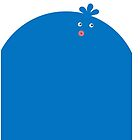 LocoRoco Blue Tupley by justjasper