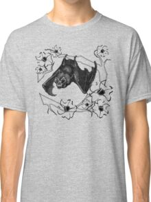 Bat in Apple Tree Ladies T-Shirt by HNTM Classic T-Shirt