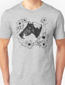 Bat in Apple Tree Ladies T-Shirt by HNTM T-Shirt