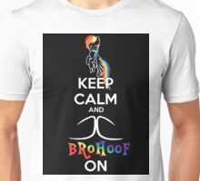 MLP Keep calm And Brohoof on Unisex T-Shirt