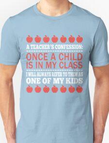 A Teacher's Confession T-Shirt
