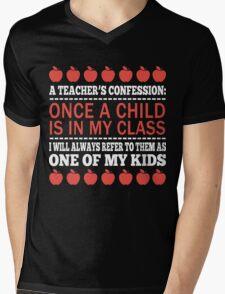 A Teacher's Confession Mens V-Neck T-Shirt