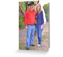 Rick And Carmel Greeting Card