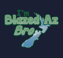 Blazed az Bro New Zealand kiwi map funny by jazzydevil