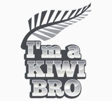 I'm a KIWI Bro New Zealand with silver fern by jazzydevil