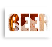 Everyone loves beer! Canvas Print