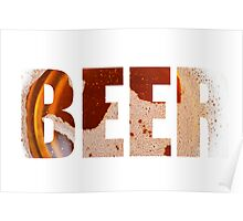 Everyone loves beer! Poster