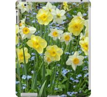 Spring daffodil garden iPad Case/Skin