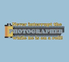 Never Interrupt the Photographer! Kids Clothes