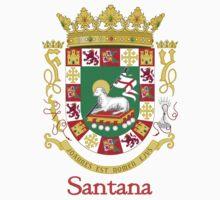 Santana Shield of Puerto Rico Kids Tee