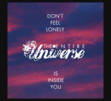Universe - Rumi Wisdom quote 1 Kids Clothes