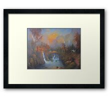 Farewell To Rivendell (The Passing Of The Elves ) Framed Print