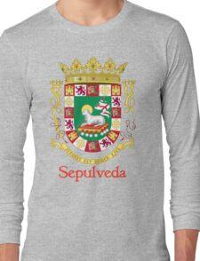 Sepulveda Shield of Puerto Rico Long Sleeve T-Shirt
