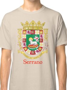 Serrano Shield of Puerto Rico Classic T-Shirt