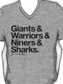 Loyal to the Bay - San Francisco (Black Print) T-Shirt