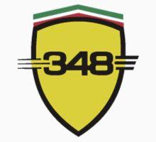 Ferrari 348 / Small Shield / Color  by Ferraridude