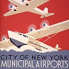 City of New York Airports by Vintagee