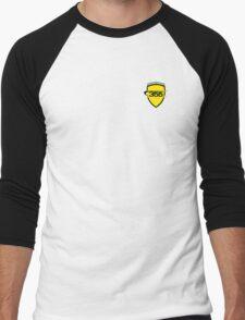 Ferrari 355 / Small Color Shield  Men's Baseball ¾ T-Shirt