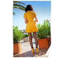 Dressed in Yellow Poster