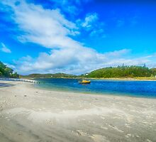 Silver Sands of Morar 4 by Chris Thaxter