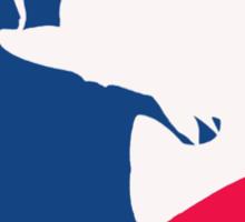 Major League Bassin Sticker