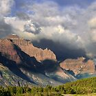 Storm Brewing in St. Mary Valley by Kathleen Bishop