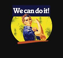 We can do it rosie riveter Women's Fitted Scoop T-Shirt