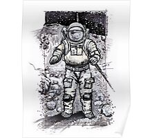 Baxter's Moon Poster