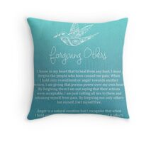 Affirmation - Forgiving Others Throw Pillow