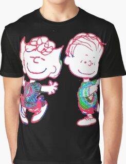 Sally and Linus Graphic T-Shirt