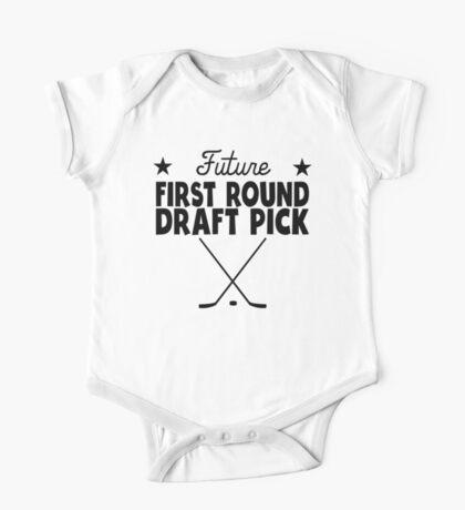 Future First Round Draft Pick Hockey One Piece - Short Sleeve