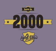Born in 2000 (Choco&Yellow) Kids Clothes