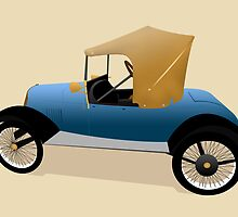 1921 Richardson Light Car  by Jamie Gothard