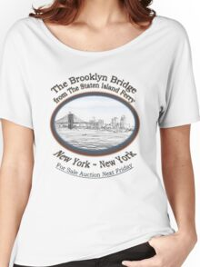 Brooklyn Bridge For Sale Women's Relaxed Fit T-Shirt
