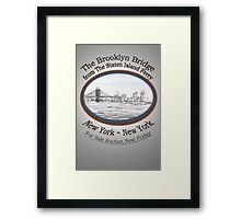 Brooklyn Bridge For Sale Framed Print
