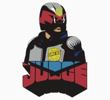 Judge Dredd by thetimbrown