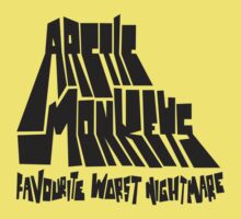 Favourite Worst Nightmare (Black) by tynamite
