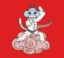 Karate Sock Monkey Unisex T-Shirt