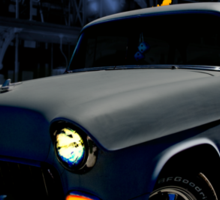 55 Chevy Noir Sticker
