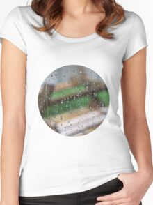 Tears of English Weather Women's Fitted Scoop T-Shirt