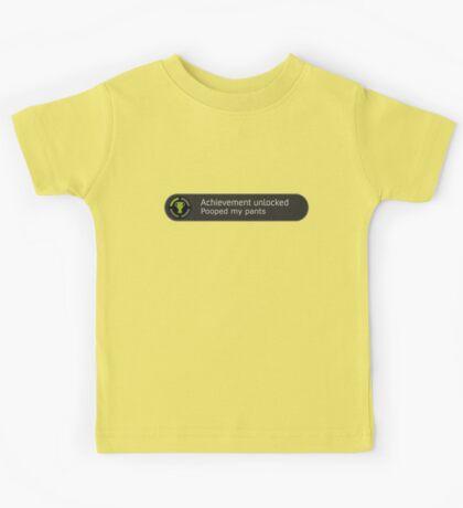 Achievement Unlocked Shirt Kids Tee