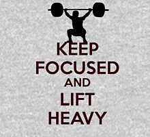 Stay focused gym message Unisex T-Shirt