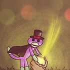 Magic Sock Monkey by Darthblueknight