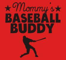 Mommy's Baseball Buddy Baby Tee