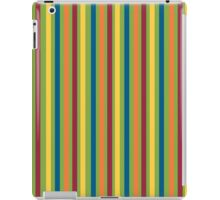 Green Blue Orange Red Yellow Striped Pattern iPad Case/Skin
