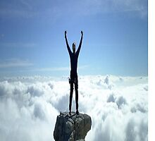 Victory Climb in the Clouds by Cheatahgirl54