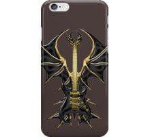 Gothic Black Guitar Bat Wings iPhone Case/Skin