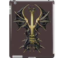 Gothic Black Guitar Bat Wings iPad Case/Skin