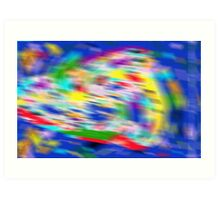 Holographic Abstract Art Print