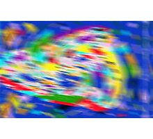 Holographic Abstract Photographic Print
